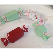 Candy shape wedding birthday party baby shower favor boxes containers craft