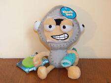 "Poptropica Shark Boy 8"" Plush Stuffed Doll Toy w/ Fish & Webcode **NEW W/ TAGS**"
