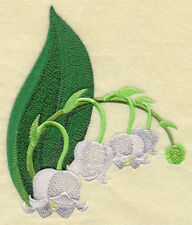 Lily Of The Valley Set Of 2 Hand Towels Embroidered