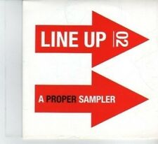 (DF456) Line Up 02 - 14 Track Sampler, various artists - 2010 DJ CD