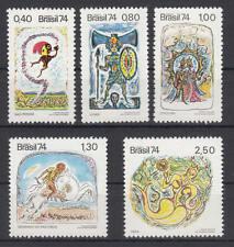 Brasilien - Michel-Nr. 1420-1424 postfrisch/** (Märchen / Fable / Fairy-Tale)