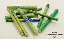 12 Bâtons de bambou décoration 8cm. Décoration de mariage