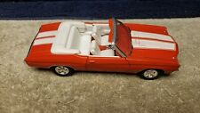 Vintage Welly 1971 Chevelle Convertible 1/24 in Red with Great Paint Mint Loose