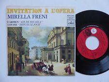 Invitation a l opera MIRELLA FRENI Carmen Air de Micaela ROVL 9012