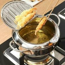 Temperature Controllable Japanese Household Tempura Deep Fryer Practical