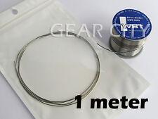 wb08 1m 3.3ft WBT-0820 0.8mm 4% Silver Solder Lead Halogen Free Spool Roll HiFi