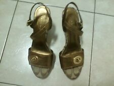 "Coach ""RANA"" Women's Signature Sandals Wedges Shoes size 7.50M"