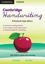NEW Cambridge Handwriting D'Nealian Style Edition by Gill Budgell DVD-Video Book