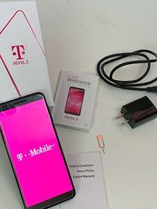 "REVVL 2 5052W T-MOBILE 32GB  5.5"" BLACK ANDROID SMARTPHONE"