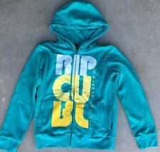Boy's Ripcurl Sz 14 Hoodie Teal Hooded Sweatshirt