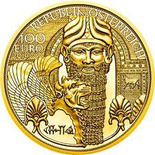 Österreich 100 Euro 2019 Das Gold Mesopotamiens Serie Magie des Goldes