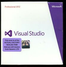 Factory Sealed - C5E-00833 Microsoft Windows Visual Studio 2012 Professional