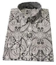Abbigliamento vintage da uomo bianche 100% Cotone