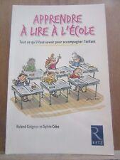 Roland Goigoux & Sylvie Cèbe: Apprendre à lire à l'école/ Editions Retz, 2006