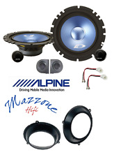 ALPINE SXE-17CS Kit 4 casse FIAT PANDA 03>12 CONN/SUPP ANTERIORI ALTOPARLANTI
