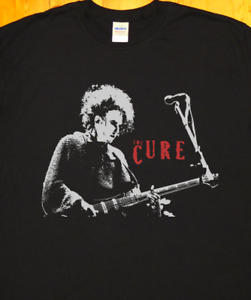 The Cure, Robert Smith, new wave, Post-punk, gothic rock, screen printed T-SHIRT