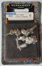 GW Warhammer 40K Space Marine Deathwing w/ Assault Cannon 44-44 2000 - METAL OOP