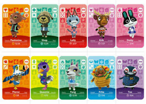 Series 4 301-400 Animal Crossing New Horizons Amiibo Card NS Switch 3DS GameCard