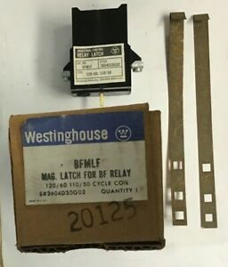WESTINGHOUSE BFMLF MAG LATCH FOR RELAY 120/110V 60/50CY