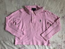 POLO RALPH LAUREN Mädchen Polo Shirt Stretch Size/Gr.6 girls shirt long sleeve