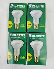 Bulbrite 40R16N 40W Incandescent R16 Mini Reflector Light Bulb Intermediate 4 Pk