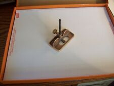 small router plane  bronze reproduction from a pattern makers tool chest