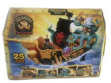 TREASURE X SUNKEN GOLD Ship Playset 25 LEVELS Explode Defeat Beast Find Gold