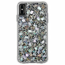 Apple iPhone XS Max Case Case-Mate Karat Mother of Pearl Protective Cover - New