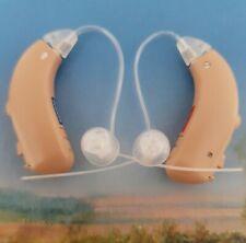 2x Siemens CIELO (REFLEX) Hearing Aid Behind the Ear BTE  Volume Control PROG