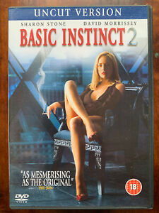 Basic Instinct 2 DVD 2006 Sharon Stone Erotic Movie Thriller