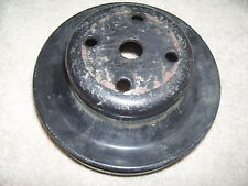 Original GM 14025188CS SBC Chevy Double Groove Water Pump Pulley