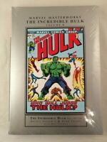 Marvel Masterworks: The Incredible Hulk Volume 8 Hardcover New/Sealed 0785188541