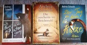 *Andrea Schacht* 3x Katzenromane