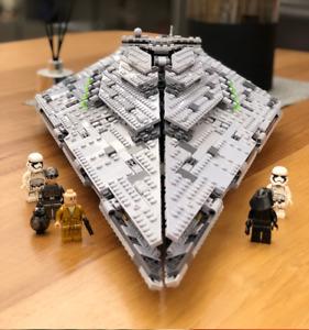 Mould King Toys MOC Monarch Star Destroyer Model Starship Building Blocks Bricks