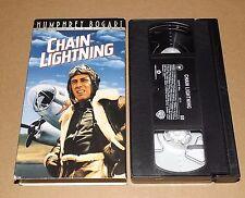 Chain Lightning (VHS, 2000, Humprey Bogart)