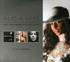 """ALICIA KEYS """"THE PLATINUM COLLECTION"""" 3 CD DIGIPACK NEW+"""