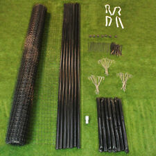 8' x 100' Deer Fence Tenax C-Flex HD 150 Maximum Strength Kit