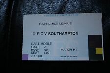 Chelsea v Southampton Premier League Ticket