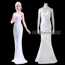 Final Fantasy XV Lunafreya Nox Fleuret Princess Oracle Costume Cosplay Woman XL