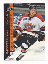 2014-15 Fort Wayne Komets (ECHL) Garrett Meurs (Wheeling Nailers)