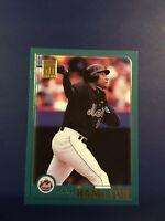2001 Topps # 518 DARRYL HAMILTON New York Mets Baseball Card Nice LOOK !