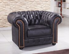 Chesterfield Sessel 1-Sitzer Chester-1-MS