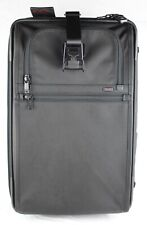 TUMI 'Alpha' Black Nylon 2-Wheeled Expandable Carry-On - 22922DH