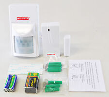Red Shield Alarm Sensor Accessory Pack PIR Door Sensor Fixings Instrucitons