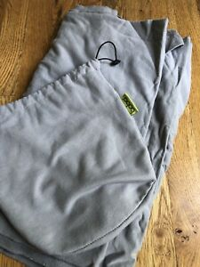 Boba Wrap Baby Carrier Gray Used with Carrying Bag