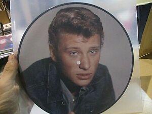 33t lp 25 cm  picture disc johnny hallyday