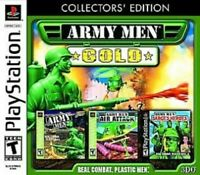 Army Men Gold - PS1 PS2 Playstation Game