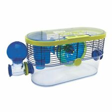 Habitrail Twist Hamster & Small Animal Cage Home w/ Running Wheel & Water Bottle