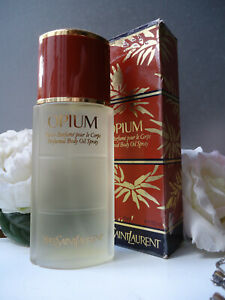 YSL OPIUM Perfumed Body Oil 125ml Fabulous New Discontinued Badly Marked Box