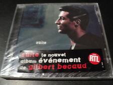 """CD NEUF """"SUITE"""" Gilbert BECAUD"""